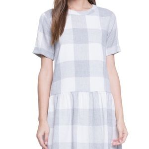 English Factory spring/summer plaid dress